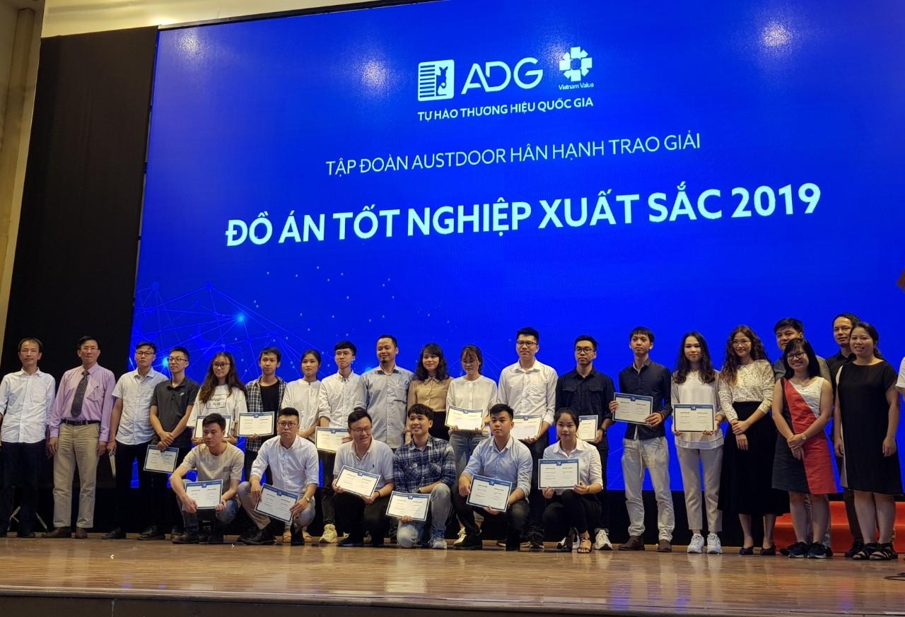 Austdoor trao tặng Giải thưởng Đồ án tốt nghiệp xuất sắc