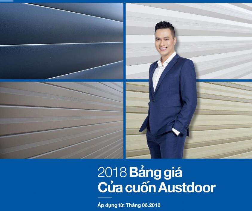 Bảng giá cửa cuốn Austdoor năm 2018