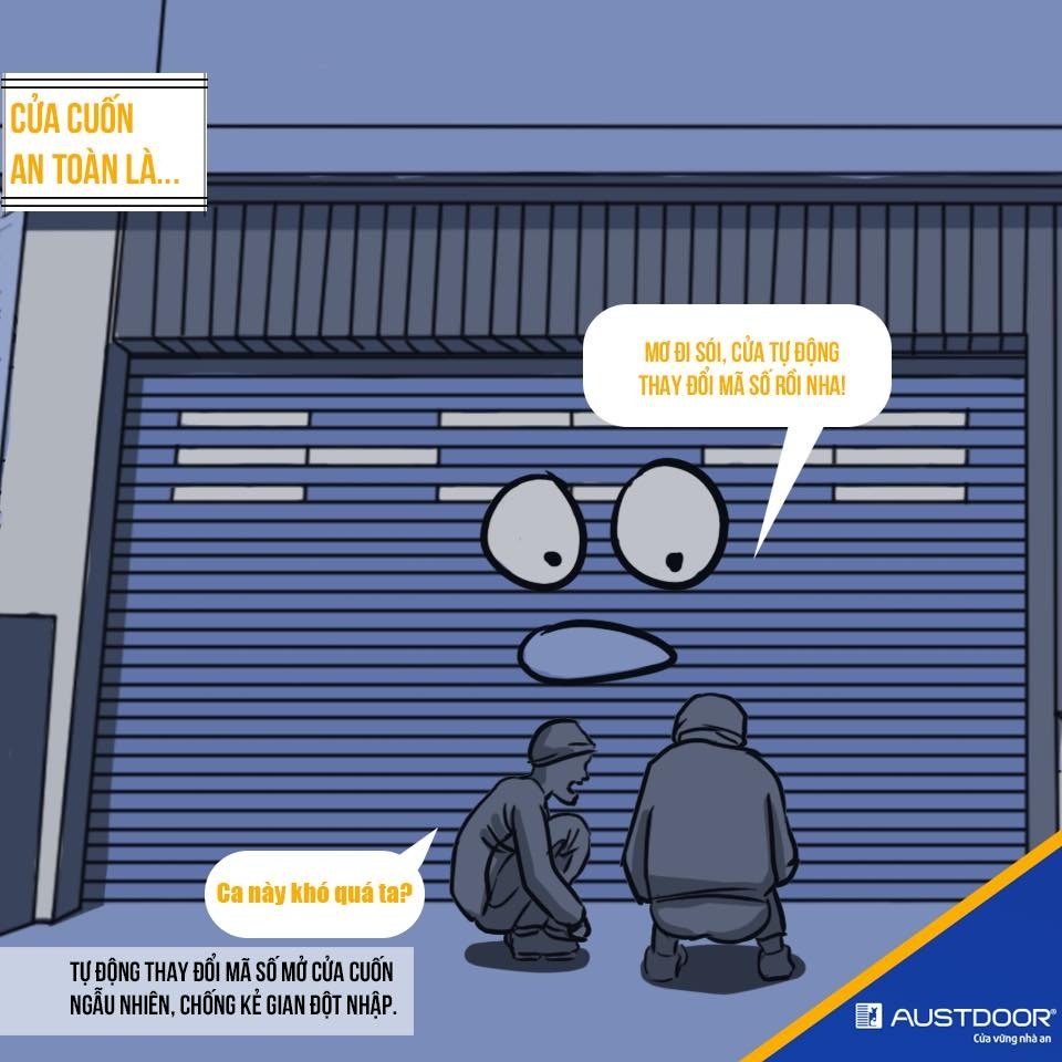 Tại sao nên chọn cửa cuốn Austdoor đồng bộ?!