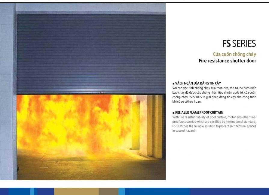 ✅ AUSTDOORCARE ✅Cửa Cuốn CHỐNG CHÁY Austdoor AF100  GIÁ 2.950.000/m2