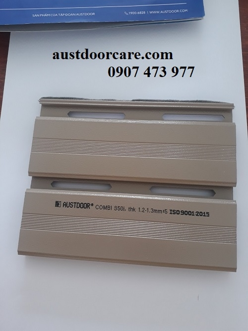✅ AUSTDOORCARE ✅Cửa cuốn Austdoor S50i - Dày 1.2 - 1.3 mm GÍA 3.150.000VNĐ/m2